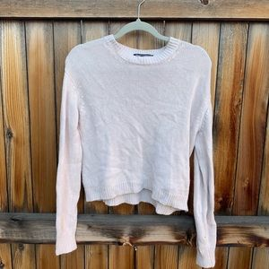 Brandy Medville Rose Cream Sweater one size